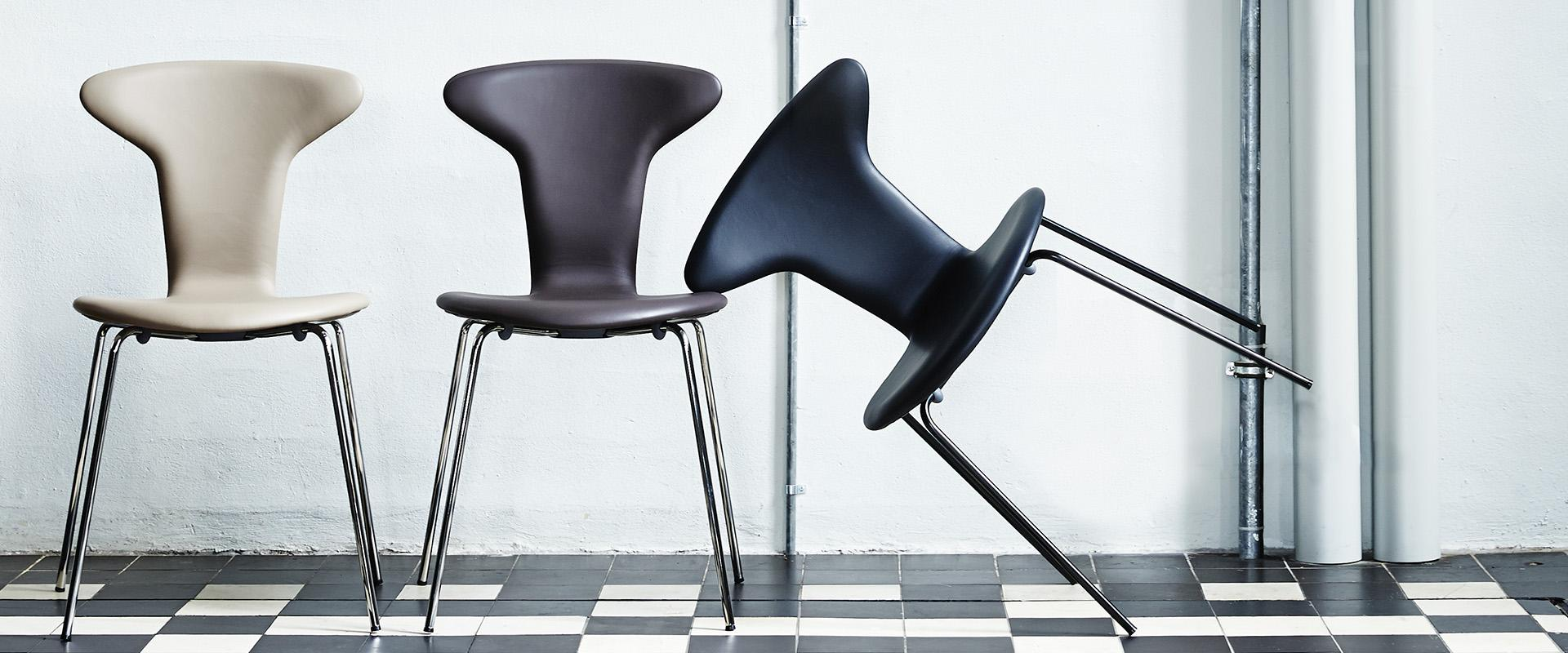 Munkegaard chair by Arne Jacobsen - the Mosquito
