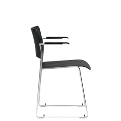 the 40 4 chair by david rowland is the first truly stackable chair