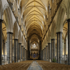 Salisbury Cathedral 40/4 David Rowland HOWE